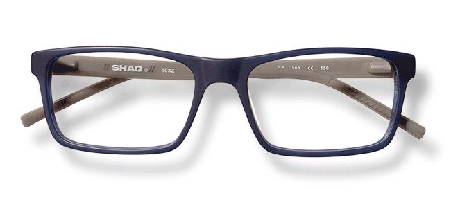 Glasses Frames Eyemart : SHAQ QD 108Z NAVY 57 W/CASE